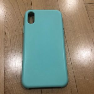 IPhone X Teal Green Phone Case